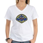 Sierra Madre Police Women's V-Neck T-Shirt