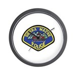 Sierra Madre Police Wall Clock