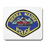 Sierra Madre Police Mousepad