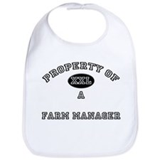 Property of a Farm Manager Bib