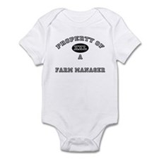 Property of a Farm Manager Infant Bodysuit