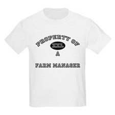 Property of a Farm Manager T-Shirt