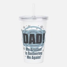 Dad Brother Bother Acrylic Double-wall Tumbler