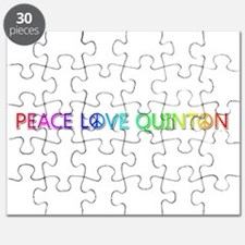 Peace Love Quinton Puzzle