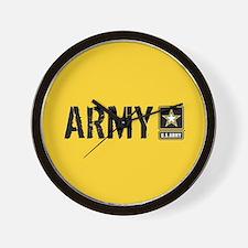 U.S. Army: Army (Gold) Wall Clock
