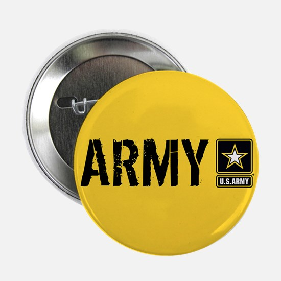 """U.S. Army: Army (Gold) 2.25"""" Button (10 pack)"""