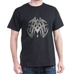 Tribal Woven Blades Dark T-Shirt