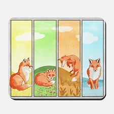 Season of the Foxes Mousepad