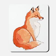 Sitting Fox Mousepad