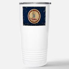 Virginia State Flag VI Travel Mug