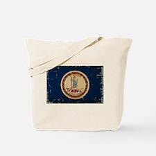 Virginia State Flag VINTAGE Tote Bag