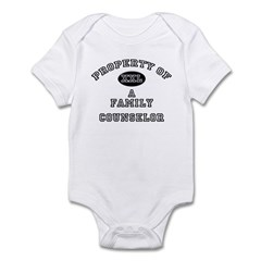 Property of a Family Counselor Infant Bodysuit