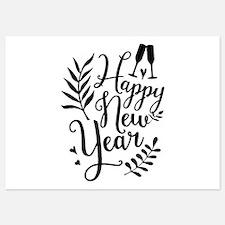 Happy New Year Invitations