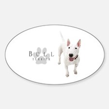 Bull Terrier Sticker (Oval)