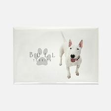 Bull Terrier Rectangle Magnet (100 pack)