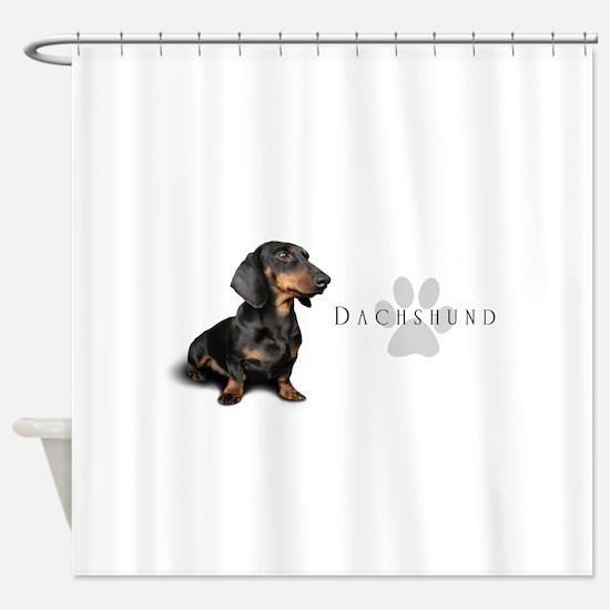 Dachshund Shower Curtain