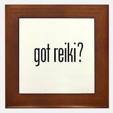 got reiki? Framed Tile