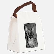 devon rex Canvas Lunch Bag