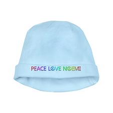 Peace Love Noemi baby hat