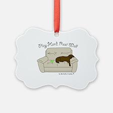Unique Funny labrador retrievers Ornament