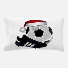 Christmas Soccer Pillow Case