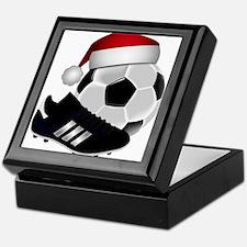 Christmas Soccer Keepsake Box