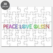 Peace Love Olsen Puzzle