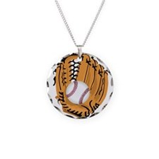 Baseball Game Time Necklace
