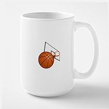 Basketball and Hoop Mugs