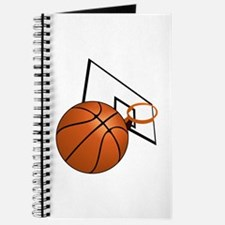 Basketball and Hoop Journal