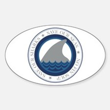 save our sharks Decal
