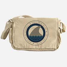 save our sharks Messenger Bag