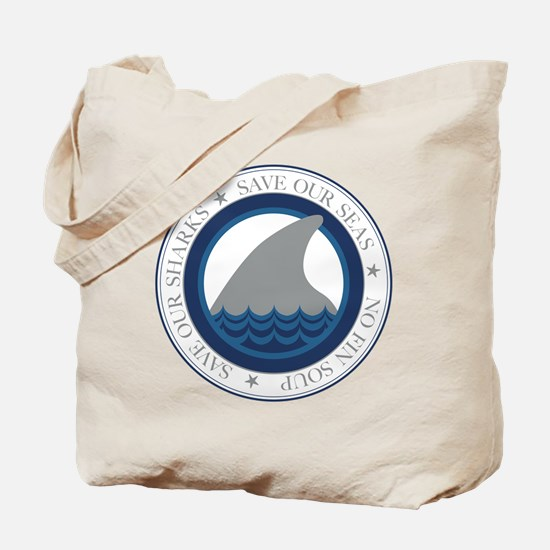 save our sharks Tote Bag