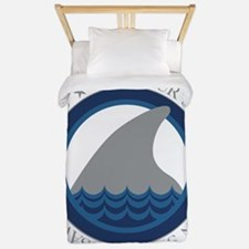 save our sharks Twin Duvet
