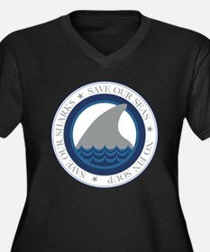 save our sharks Plus Size T-Shirt