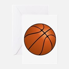 Basketball Greeting Cards