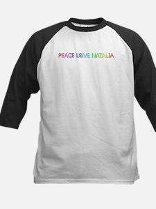 Peace Love Natalia Baseball Jersey