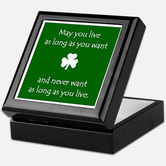 MAY YOU LIVE LONG - Keepsake box