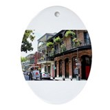 New orleans Oval Ornaments