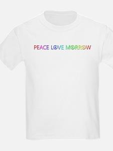 Peace Love Morrow T-Shirt