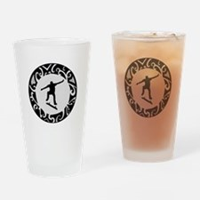 Cute Skate or die Drinking Glass