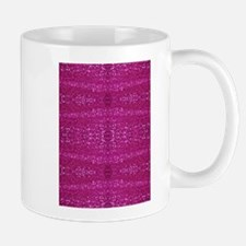 pink sequins Mugs
