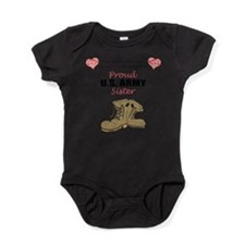 Funny Military family brother Baby Bodysuit