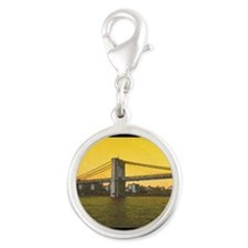 Retro Brooklyn Bridge Majestic NYC Charms