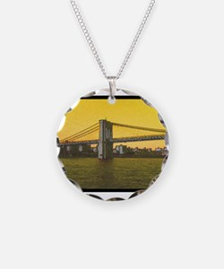 Retro Brooklyn Bridge Majest Necklace