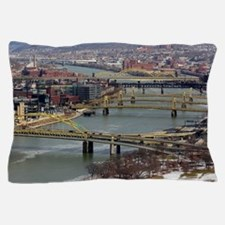 City of Bridges Pillow Case