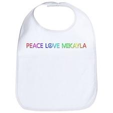Peace Love Mikayla Bib