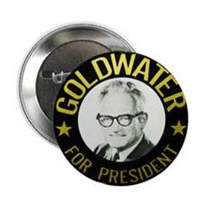 "Goldwater for President 2.25"" Button (10 pack)"
