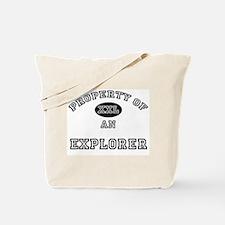 Property of an Explorer Tote Bag