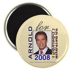 Arnold 4 President Magnet